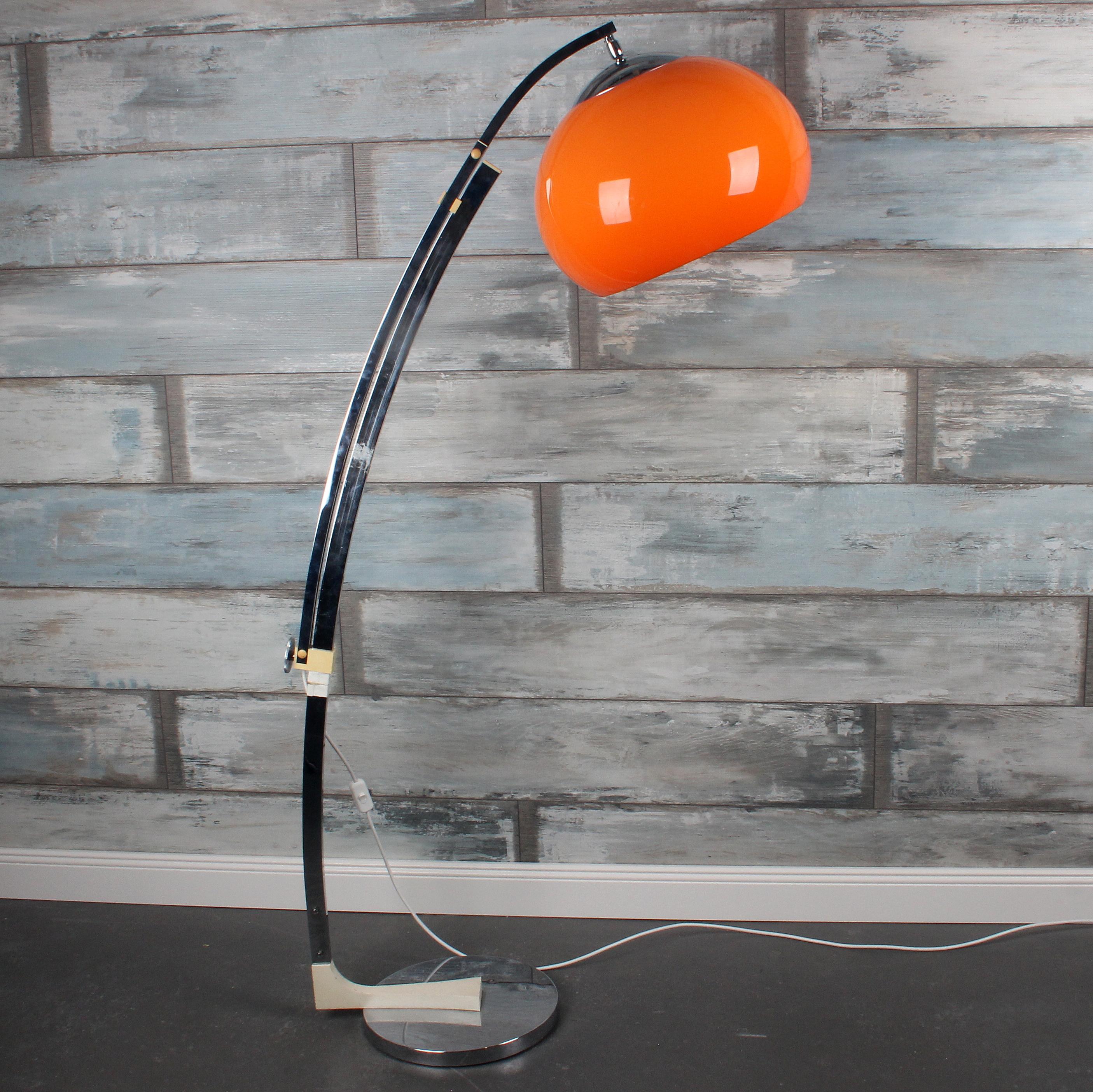 Design Stehlampe 70er