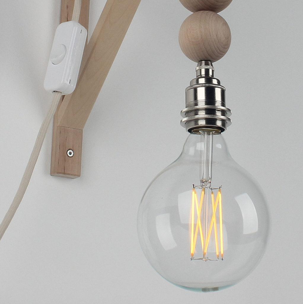 Textilkabel Lampe Selber Bauen
