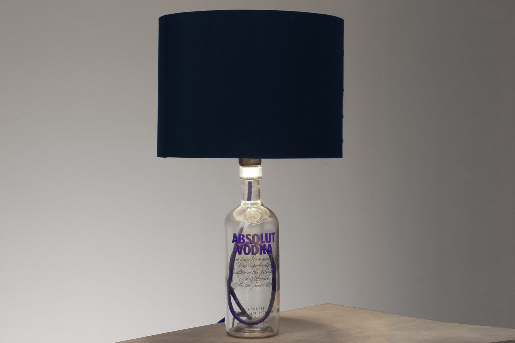 flaschenlampe textilkabel selber bauen 2 radio k lsch hamburg. Black Bedroom Furniture Sets. Home Design Ideas