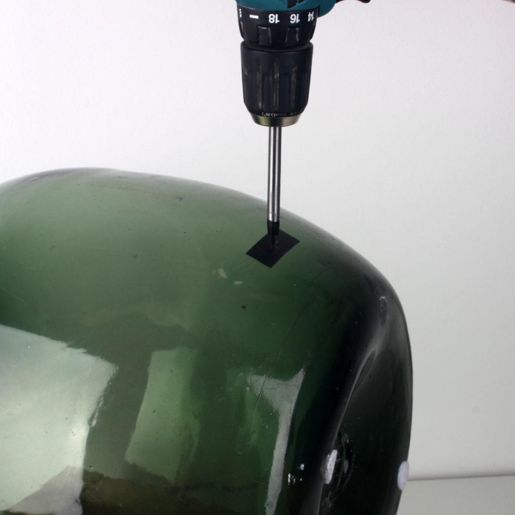 Aus einer Weinballon Flasche eine Lampe bauen - Radio Kölsch Hamburg