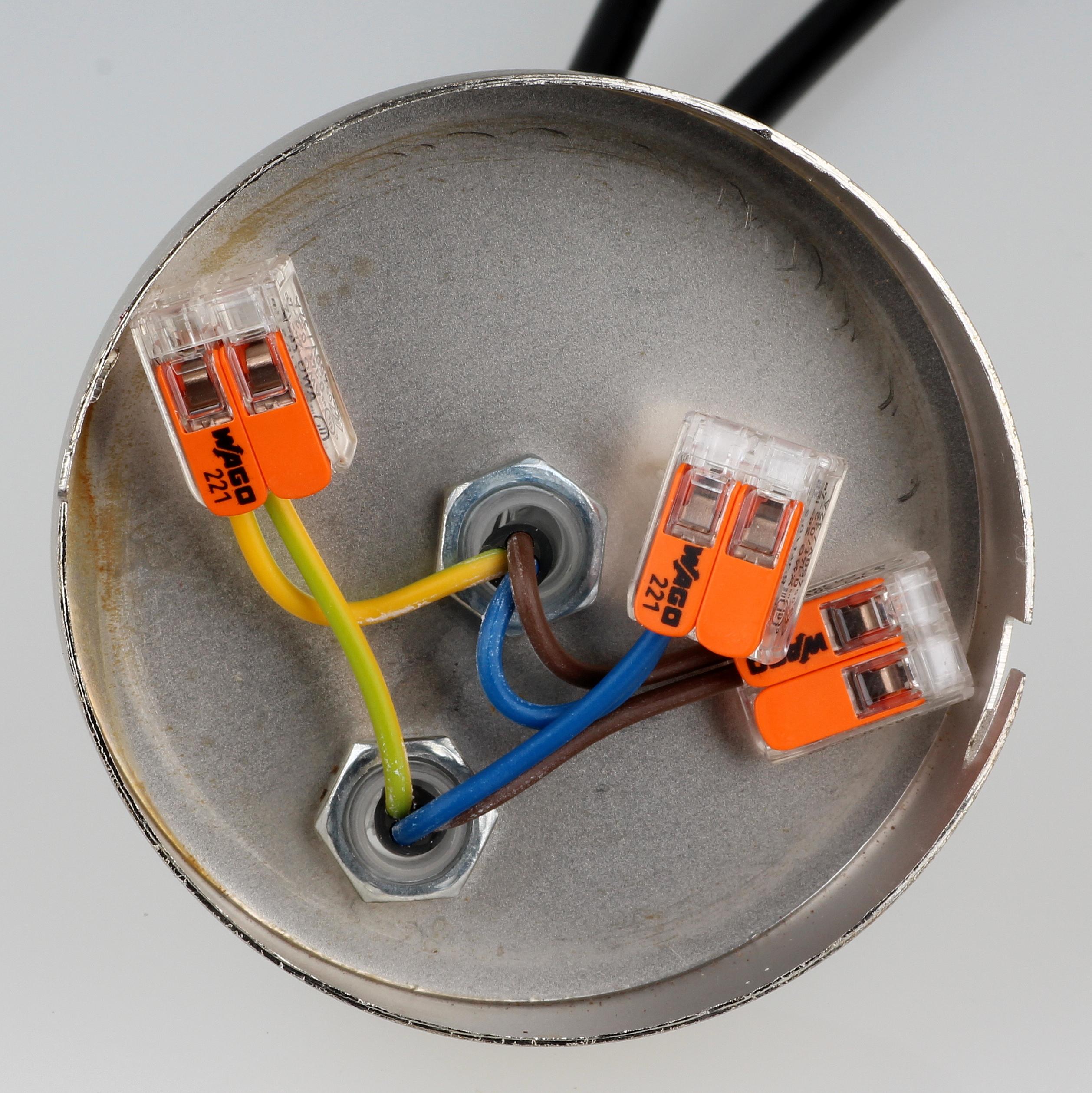 Lampen Anbringen Deckenlampe Ber Loch Anbringen Lampe: Lampen Verkabeln