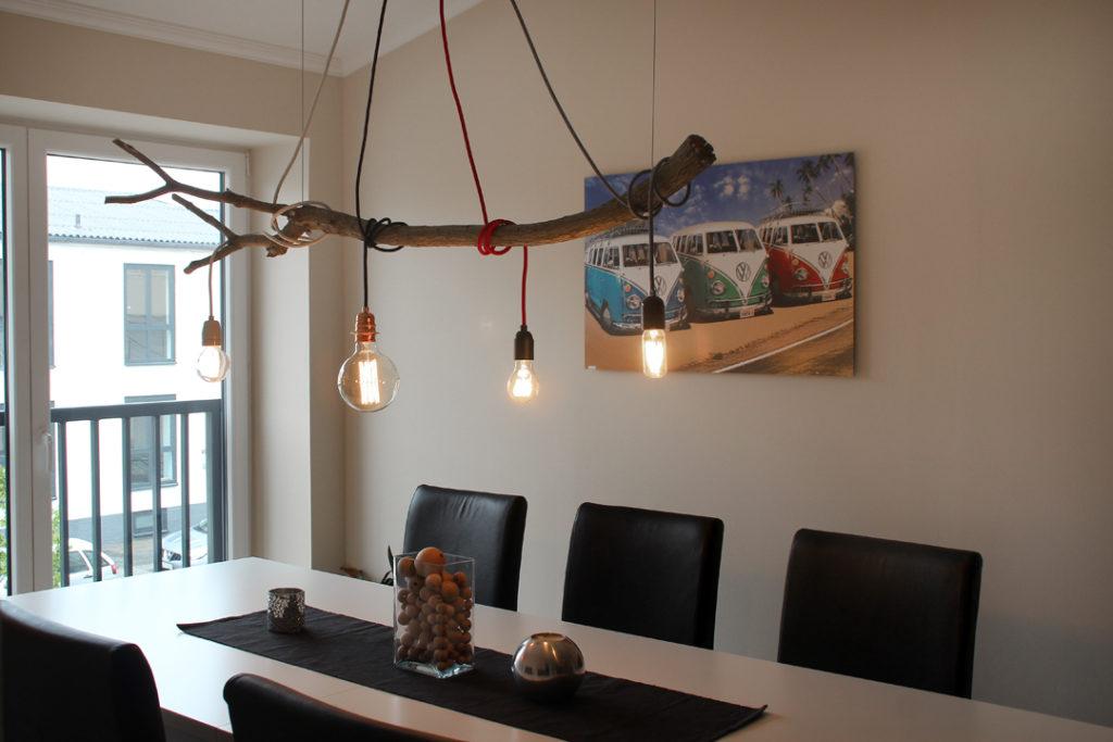 Eine Ast Lampe selber bauen - Radio Kölsch Hamburg