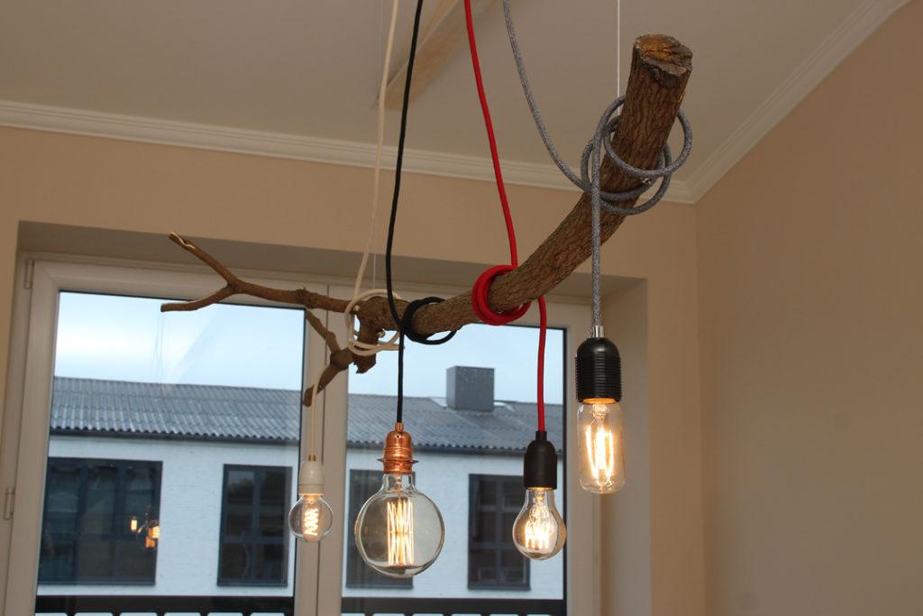Eine Ast Lampe Selber Bauen Radio Kolsch Hamburg